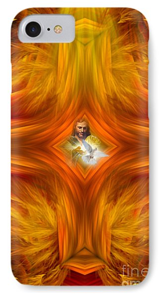 Sacred Cross IPhone Case by Giada Rossi