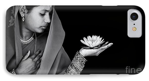 Sacred Flower IPhone Case