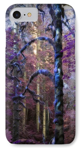 IPhone Case featuring the photograph Sacred Forest by Amanda Eberly-Kudamik