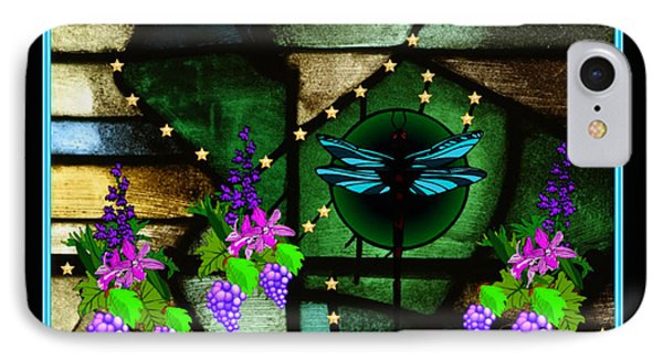 Sacred Garden IPhone Case by Mary Anne Ritchie