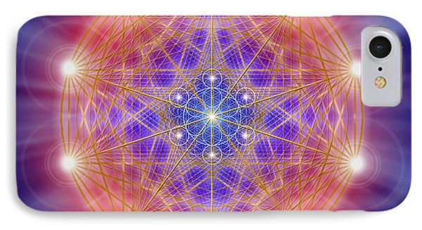 Sacred Geometry 168 Phone Case by Endre Balogh