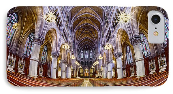 Sacred Heart Basilica Phone Case by Jerry Fornarotto