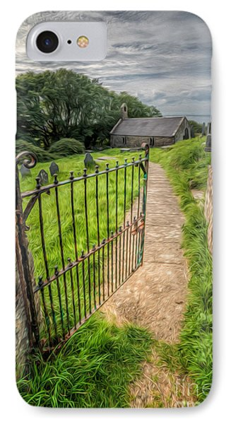 Sacred Path IPhone Case by Adrian Evans