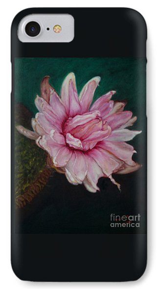 Sacred Red Lotus IPhone Case by Mukta Gupta