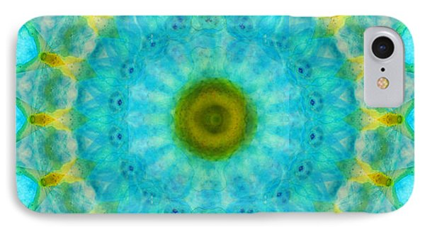 Sacred Voice - Mandala Art By Sharon Cummings IPhone Case
