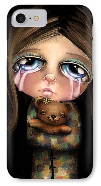 Sad Eyes IPhone Case by Karin Taylor