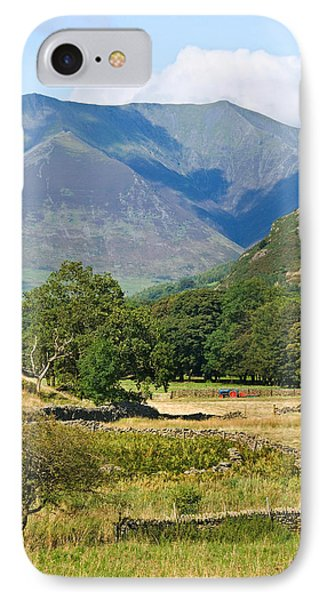 IPhone Case featuring the photograph Saddleback Mountain by Jane McIlroy