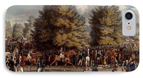 Saddling In The Warren, Print Made IPhone Case by James Pollard