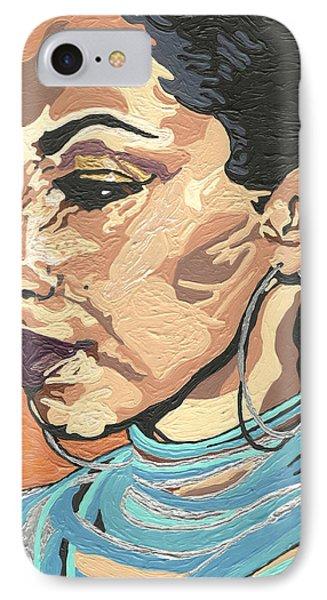 Sade Adu IPhone Case by Rachel Natalie Rawlins
