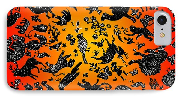 Safari Pattern 3 Phone Case by John Keaton