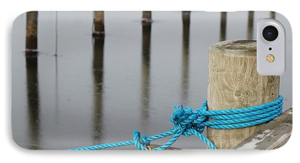 IPhone Case featuring the photograph Safe Mooring by Randi Grace Nilsberg
