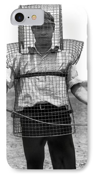 Safety Cage For Caddies IPhone Case by Underwood Archives
