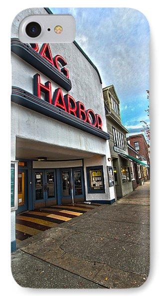 Sag Harbor Theater IPhone Case
