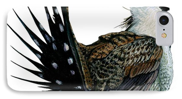 Sage Grouse  Phone Case by Anonymous