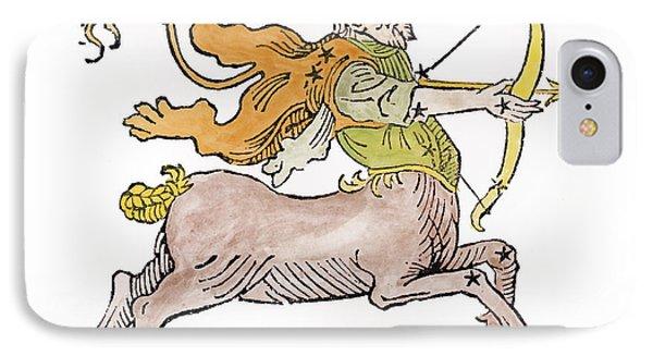 Sagittarius An Illustration Phone Case by Italian School
