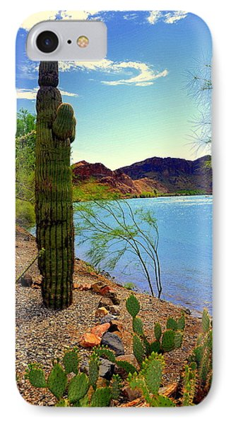 Saguaro IPhone Case by Antonia Citrino
