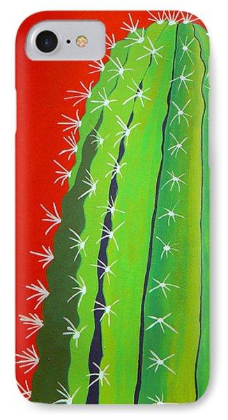Saguaro Cactus Phone Case by Karyn Robinson