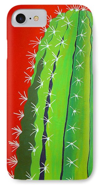 Saguaro Cactus IPhone Case by Karyn Robinson