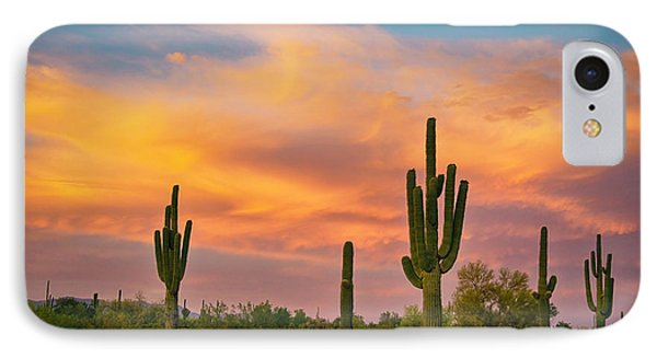 Saguaro Desert Life IPhone Case by James BO  Insogna