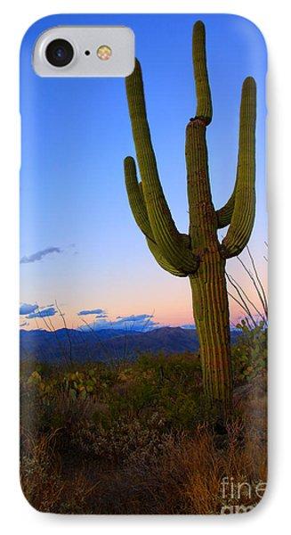 Saguaro Dusk IPhone Case