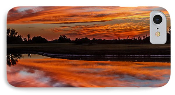 Saguaro Reflection Phone Case by Robert Bales