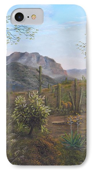 Saguaro Sunrise  IPhone Case