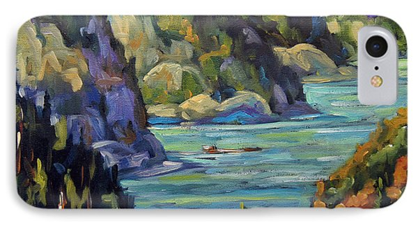 Saguenay Fjord By Prankearts IPhone Case