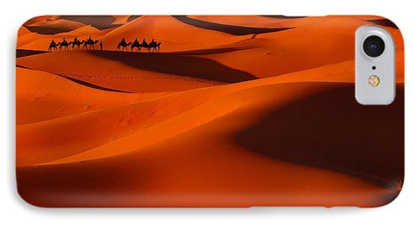 Sahara Story IPhone Case by Midori Chan