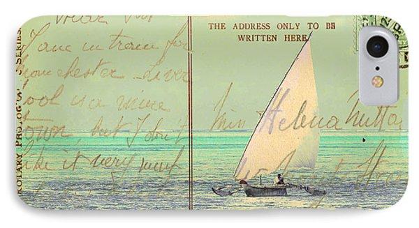 Sail Away Phone Case by Sarah Vernon