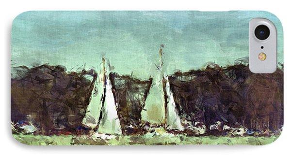 Sail Away Phone Case by Susan Leggett