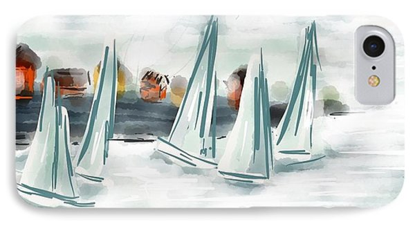 Sail Away With Me IPhone Case by Patricia Olson