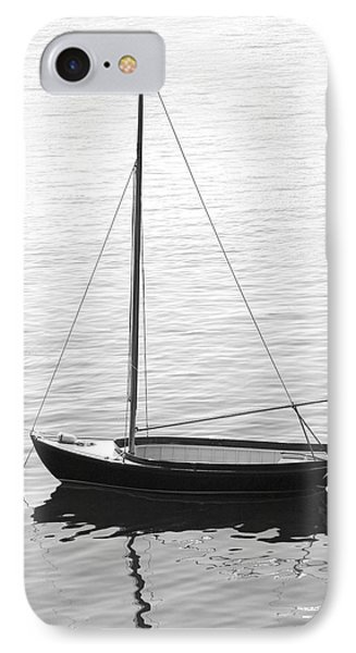 Sail Boat In Maine Phone Case by Mike McGlothlen