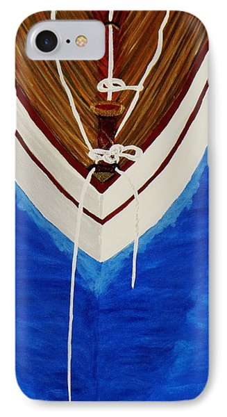IPhone Case featuring the painting Sail On by Celeste Manning