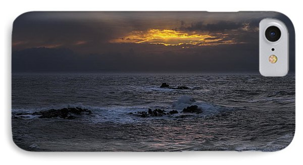 Sail Rock Sunrise 2 IPhone Case by Marty Saccone