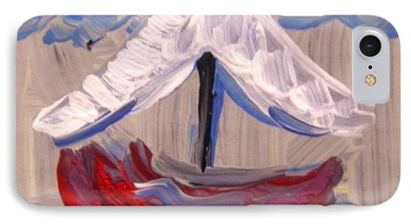 IPhone Case featuring the painting Sail Travel by Mary Carol Williams