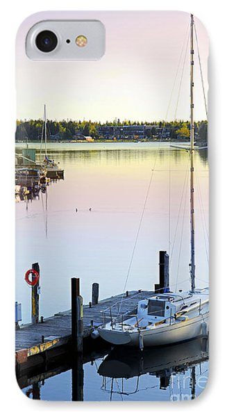 Sailboat At Sunrise IPhone Case