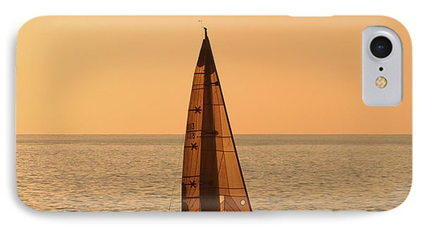 Sailboat In Hawaii Phone Case by Kim Hojnacki