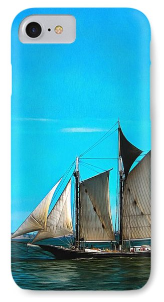 Sailboat In The Bay IPhone Case