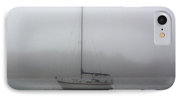Sailboat In The Fog IPhone Case by Dan Williams