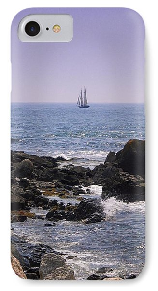 Sailboat - Maine IPhone Case