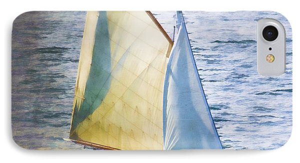 Sailboat Off Marthas Vineyard Massachusetts IPhone Case