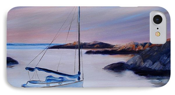 Sailboat Reflections I Phone Case by Donna Tuten