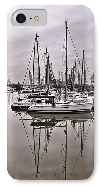 Sailboat Row IPhone Case by Greg Jackson