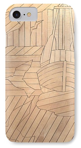 Sailboat IPhone Case by Stan Tenney