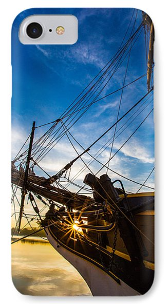 Sailboat Sunrise IPhone Case