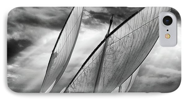 Sailboats And Light IPhone Case