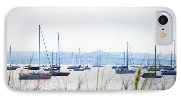 Sailboats At Rest Phone Case by Bill Cannon
