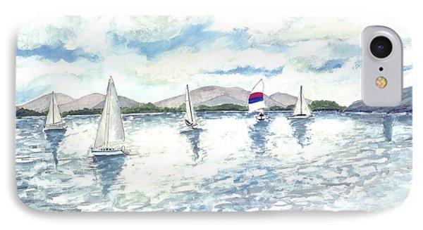 Sailboats Phone Case by Derek Mccrea