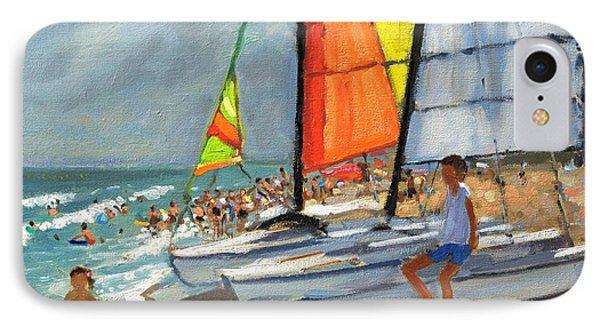 Sailboats Garrucha Spain  IPhone Case