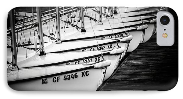 Sailboats In Newport Beach California Picture IPhone Case